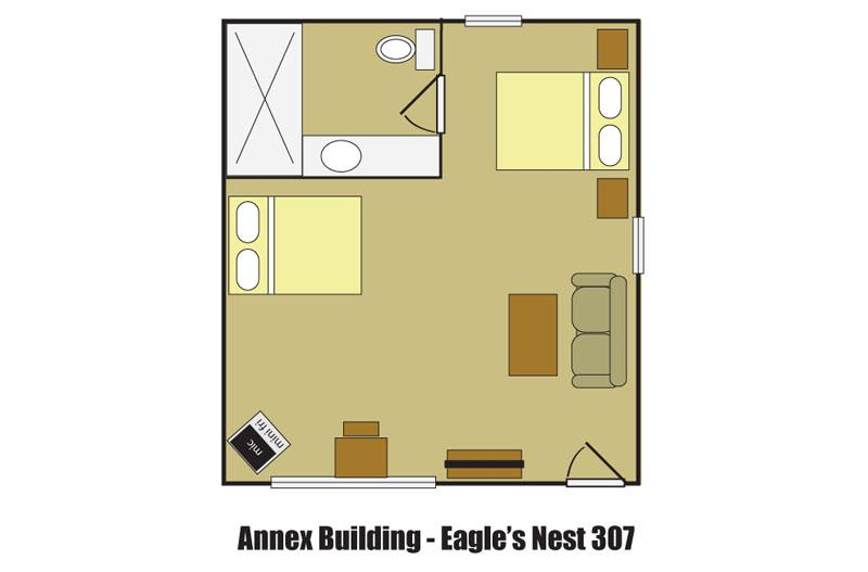 Eagle's Nest 307 Extended Stay Lodging